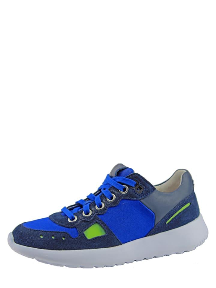 Braqeez Sneakersy w kolorze granatowym