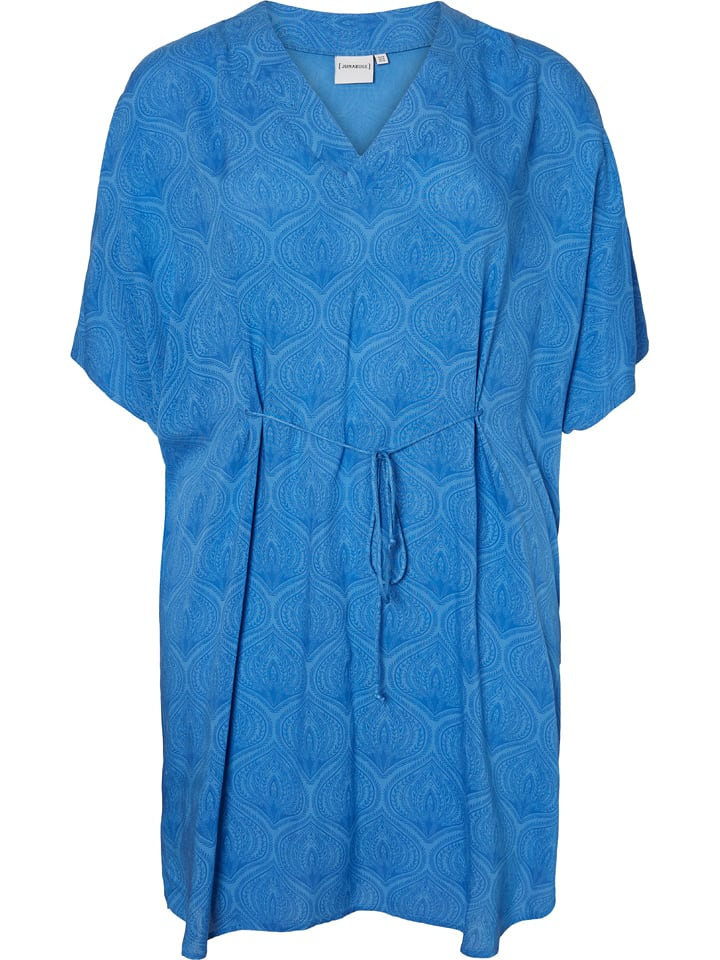 JUNAROSE Sukienka w kolorze niebieskim