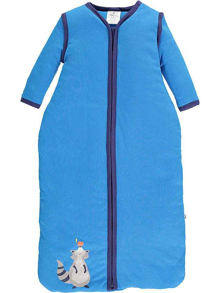 Lamino Śpiworek w kolorze niebieskim