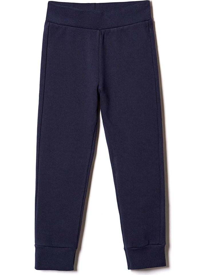 Benetton Spodnie dresowe w kolorze granatowym