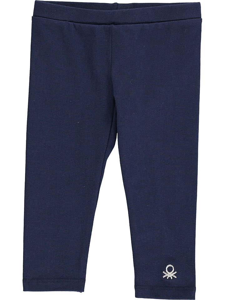 Benetton Leggings in Dunkelblau