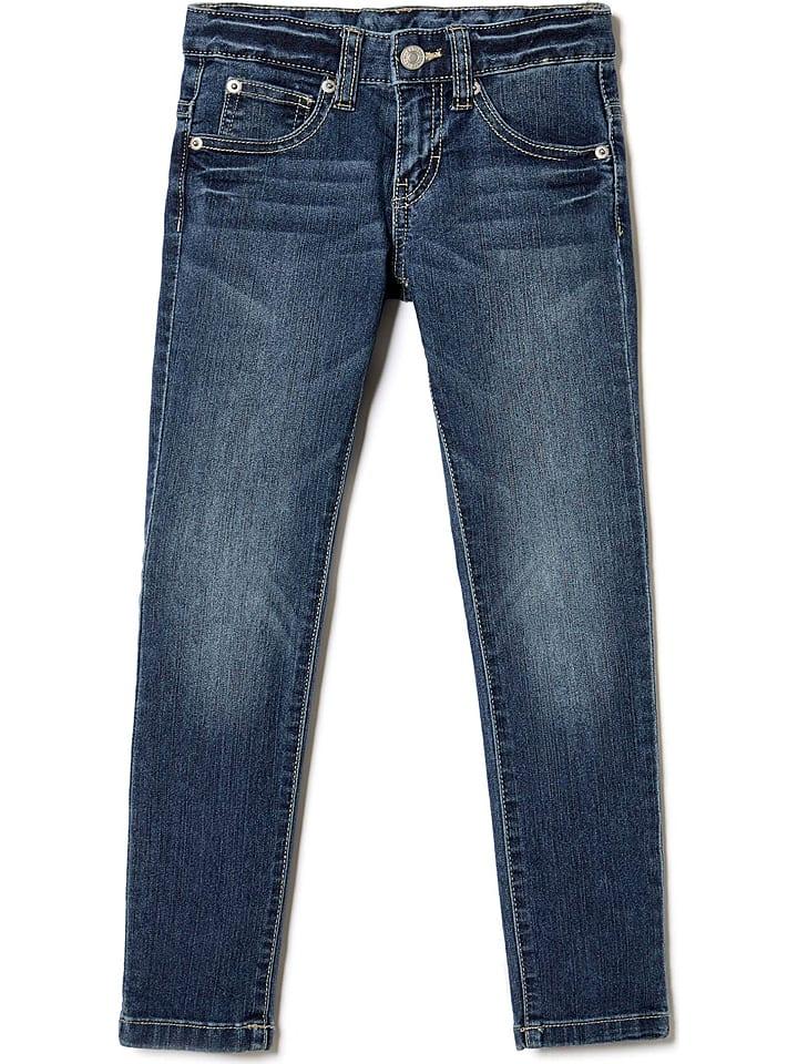 Benetton Jeans in Blau