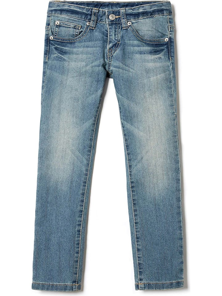 Benetton Jeans in Hellblau