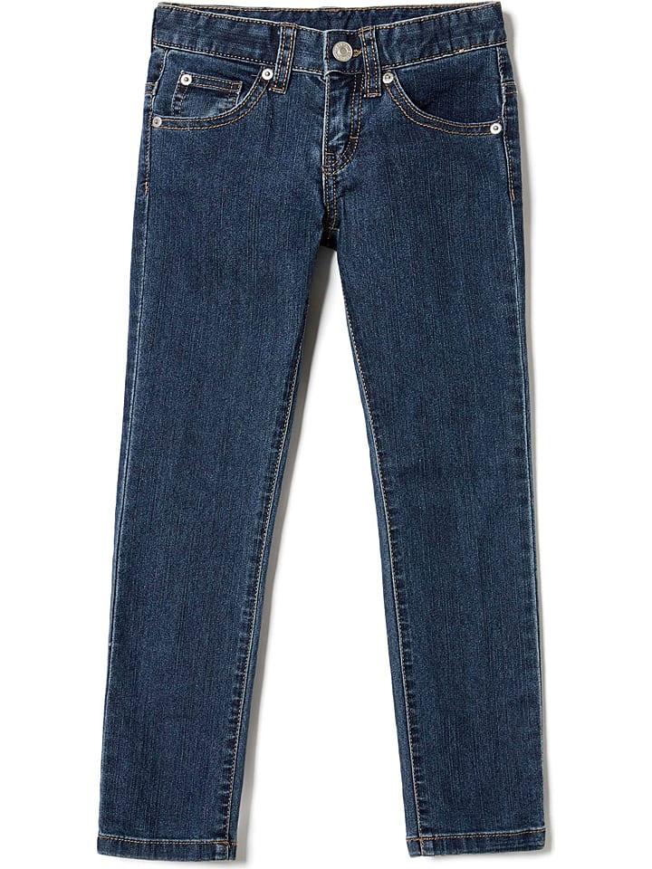 Benetton Jeans in Dunkelblau