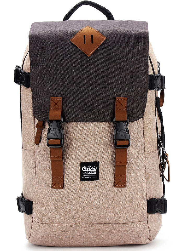088b1c13baff6 Plecak w kolorze beżowym - 32 x 49 x 15 cm - G.ride - Wyprzedaż w ...