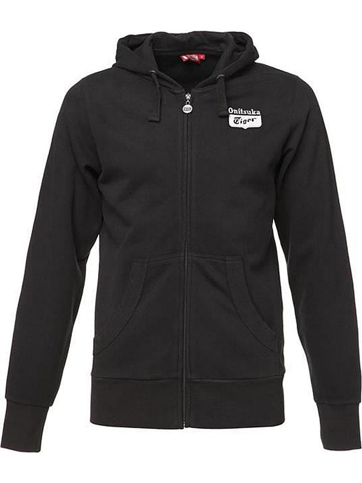 "Bluza ""M'S OT Basic Zip Hood"" w kolorze czarnym"