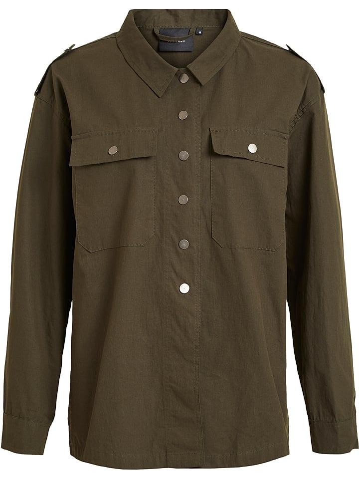 "Object Bluzka ""Vanilommel"" w kolorze khaki"