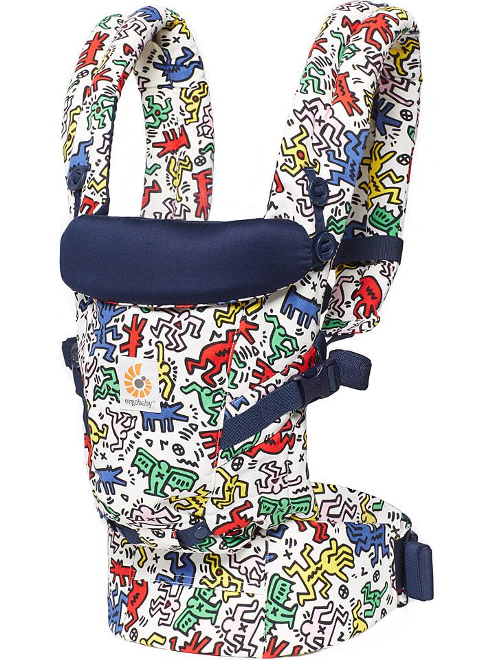 "ERGObaby Babytrage ""Original Adapt - Keith Haring - Pop"" in Bunt"