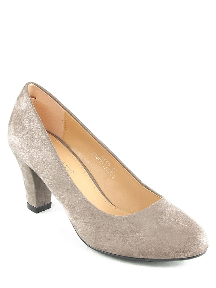 Poti Pati Pumps in Taupe