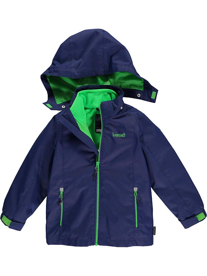Lamino Functionele 3-in-1 jas donkerblauw/groen