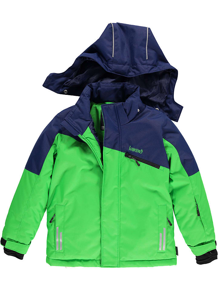 Lamino Kurtka narciarska w kolorze granatowo-zielonym