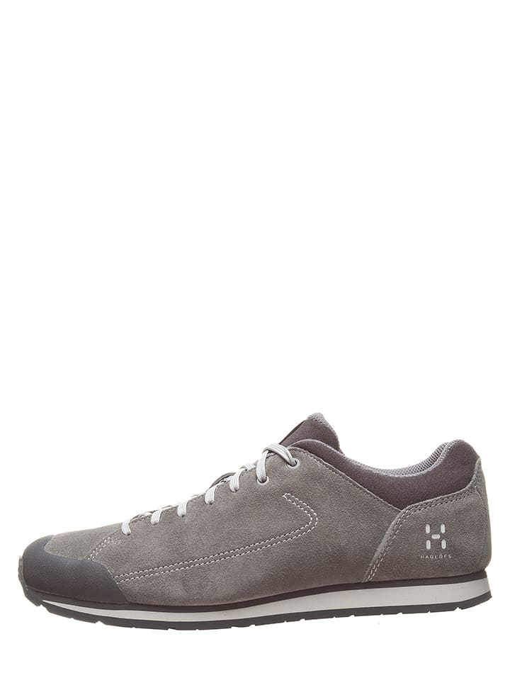"Haglöfs Leder-Sneakers ""Roc Lite"" in Grau"