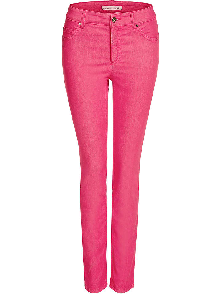 "Oui Jeggings ""Baxtor"" - Slim fit - in Pink"