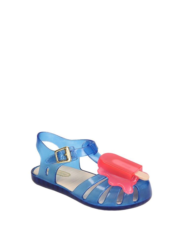 Melissa Sandały w kolorze niebiesko-różowym