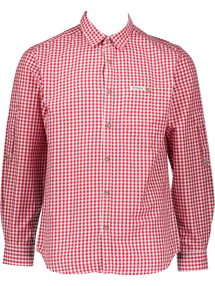 "Stockerpoint Trachtenhemd ""Campos3"" in Rot"