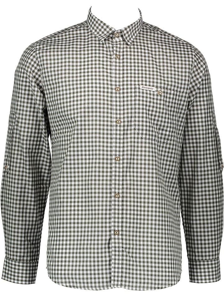 "Stockerpoint Trachtenhemd ""Campos3"" in Khaki"