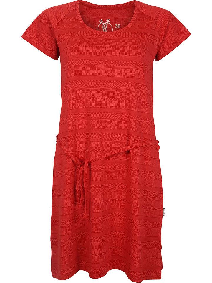 """Elkline Sukienka """"Malaga"""" w kolorze czerwonym"""