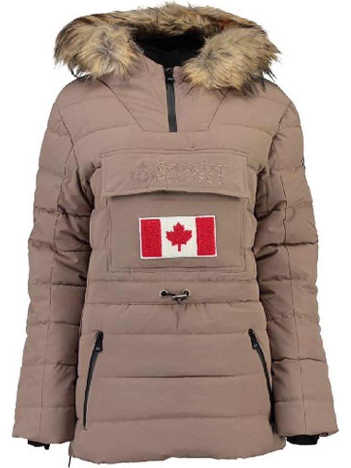 "Canadian Peak Parka ""Bunnateak"" taupe"
