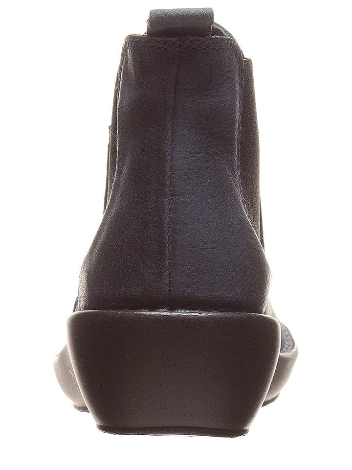 2378c29f4a2eee CAMINA by Kmins - Leder-Chelsea-Boots in Dunkelblau