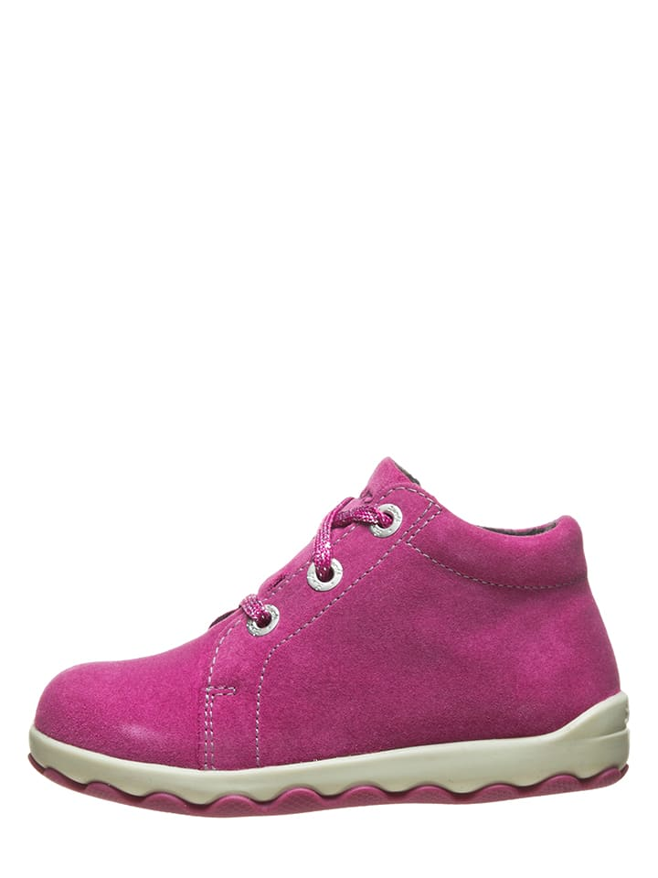 "Lurchi Leder-Sneakers ""Ispy"" in Pink"