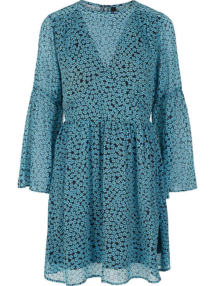 """Y.A.S Sukienka """"Aquilla"""" w kolorze błękitnym"""