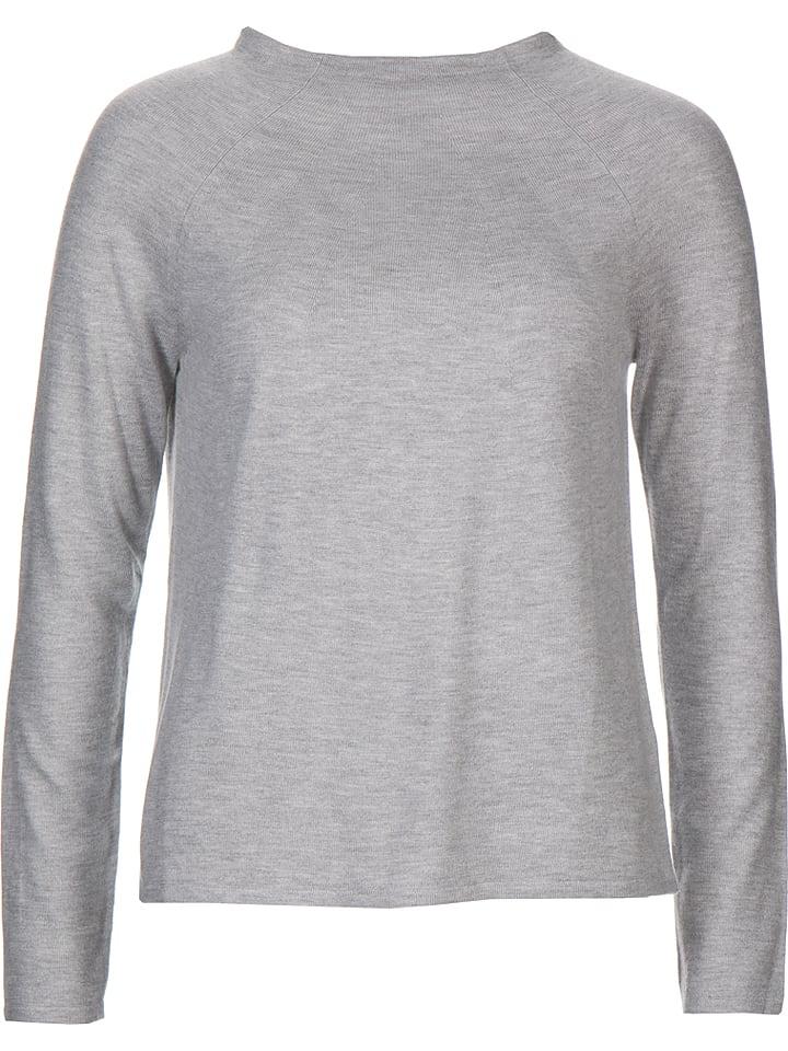 Re.draft Sweter w kolorze jasnoszarym