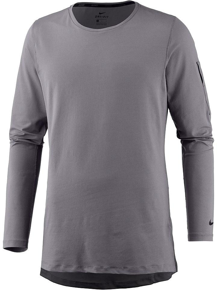 """Nike Koszulka funkcyjna """"Utility"""" w kolorze szarym"""