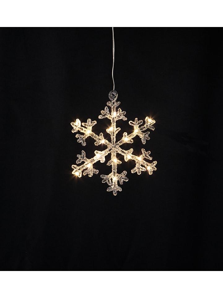"""Best Season Dekoracyjna zawieszka LED """"Icy Star"""" - 16 x 18 cm"""