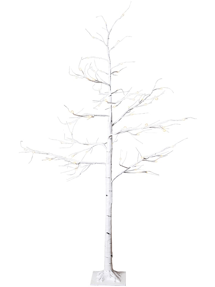 """Best Season LED- Lichterbaum """"Tobby Tree"""" in Weiß - (B)50 x (H)150 cm"""