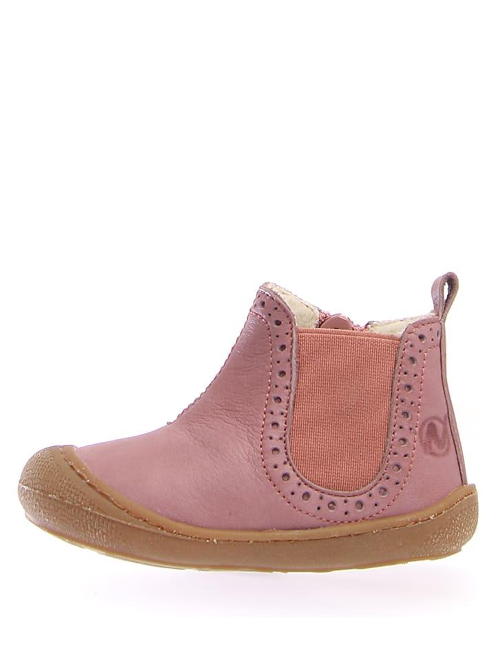 "Naturino Leder-Boots ""War"" in Rosa"