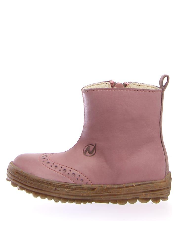 "Naturino Leder-Boots ""Dunes"" in Rosa"