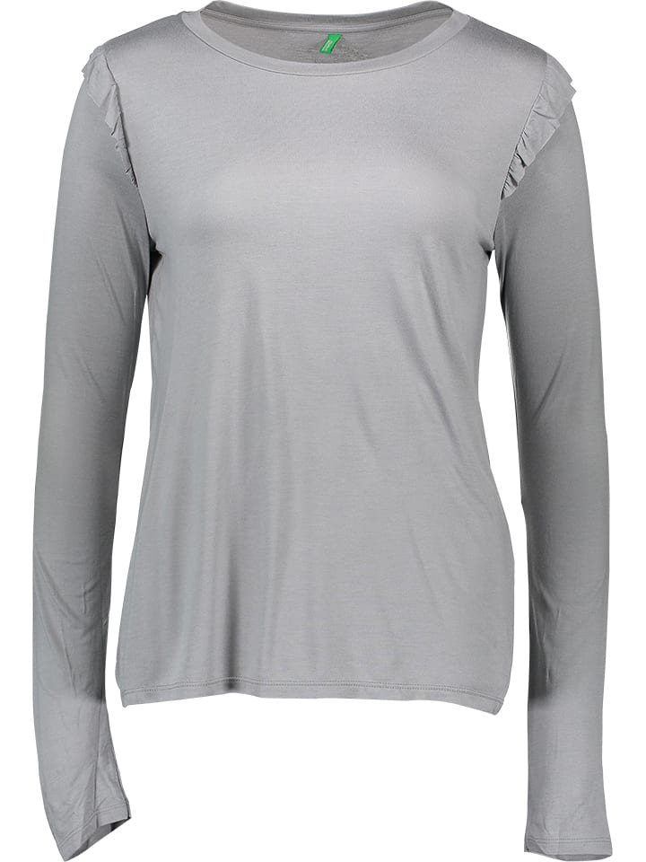 Benetton Longsleeve in Grau