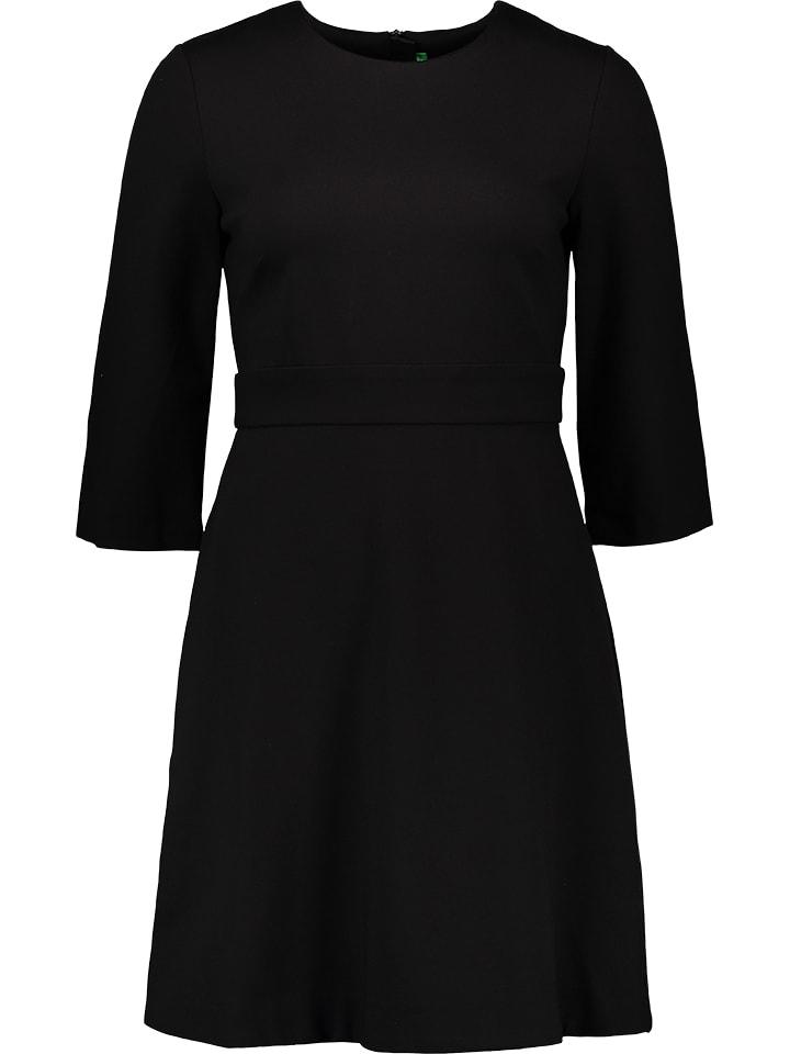 Benetton Sukienka w kolorze czarnym