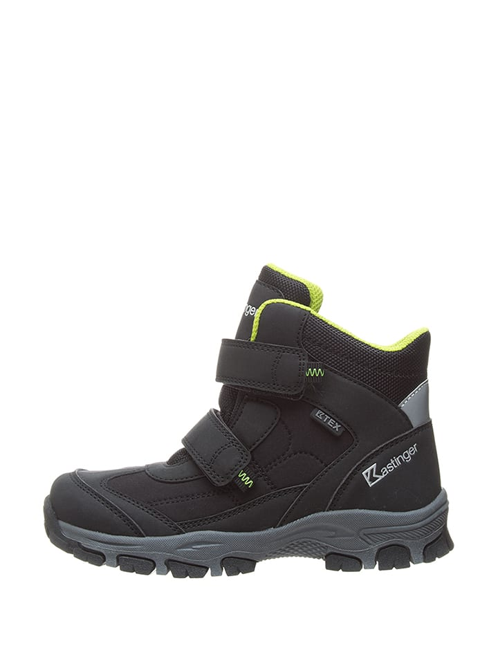"Kastinger Winterboots ""Snow-Run"" in Schwarz/ Gelb"