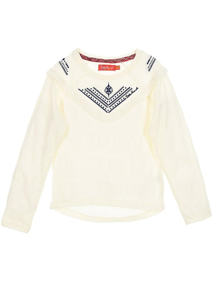 Little Marcel Koszulka w kolorze białym