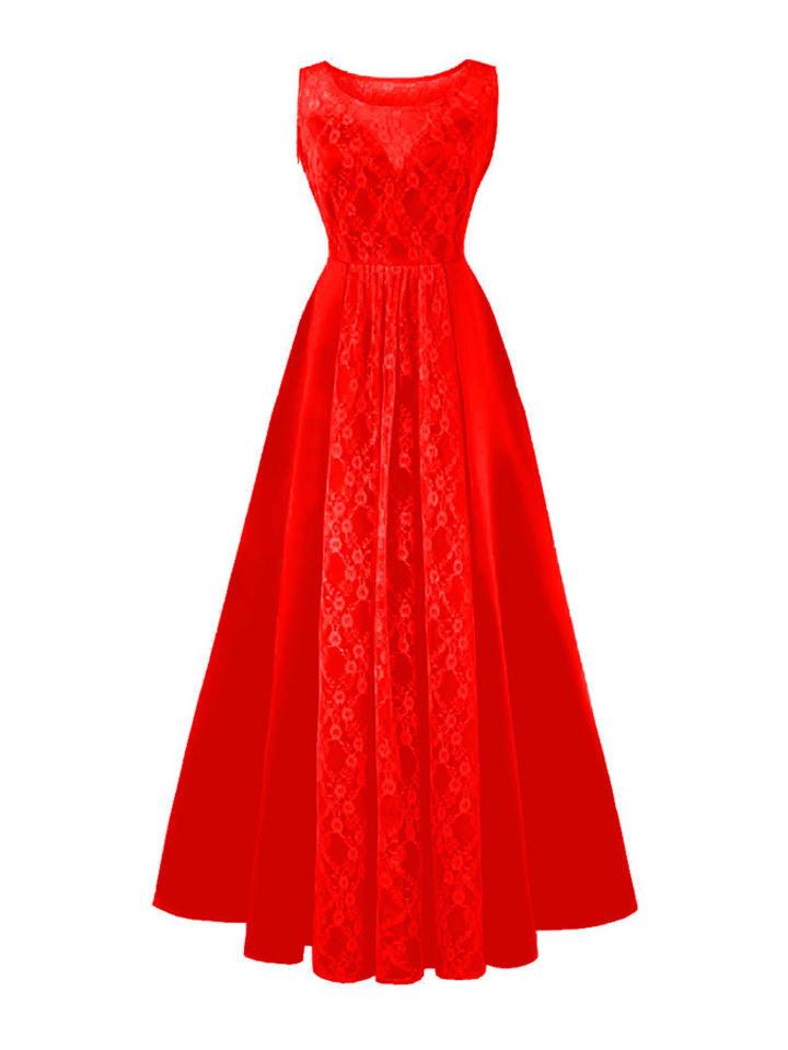 Mixinni Sukienka w kolorze czerwony