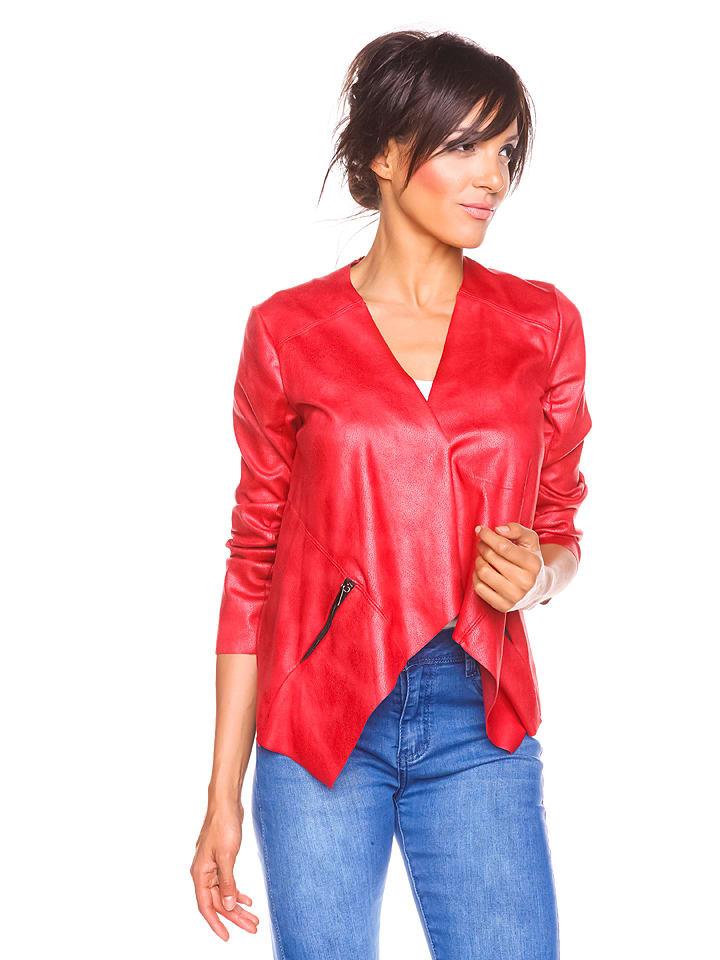"""Scarlet Jones Blezer """"Adina"""" w kolorze czerwonym"""