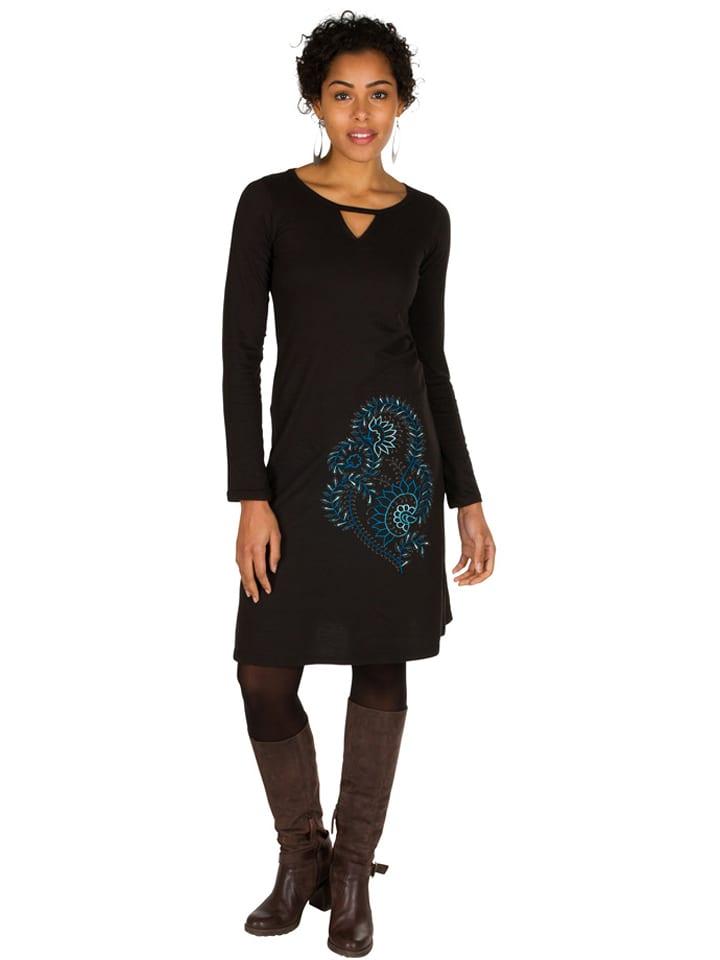 Aller Simplement Sukienka w kolorze czarnym
