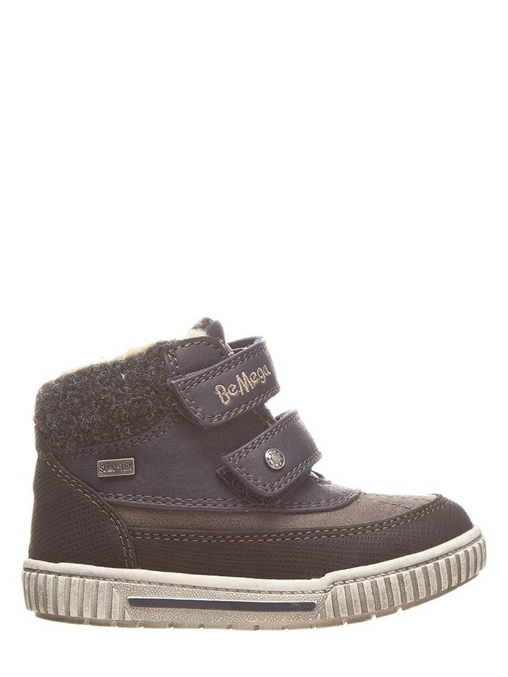 BeMega Boots in Grau/ Blau