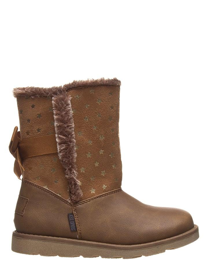 BeMega Boots in Hellbraun