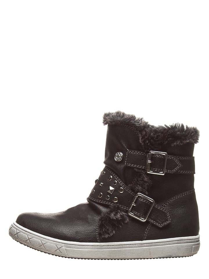 BeMega Boots in Schwarz