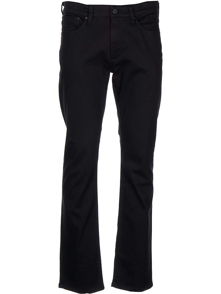 """Mavi Jeans Dżinsy """"Martin"""" - Straight Leg - w kolorze czarnym"""