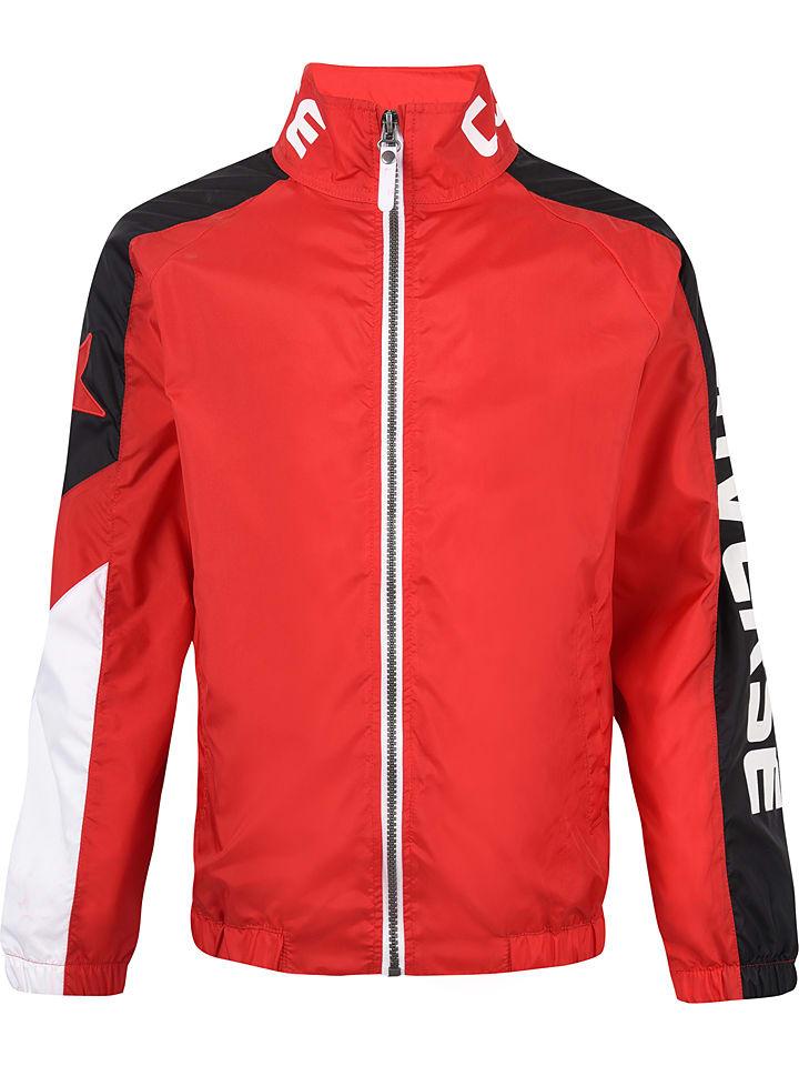Converse Trainingsjacke in Rot