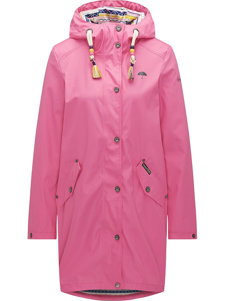Schmuddelwedda Funktionsmantel in Pink - 55% | Größe XS | Damen outdoorjacken