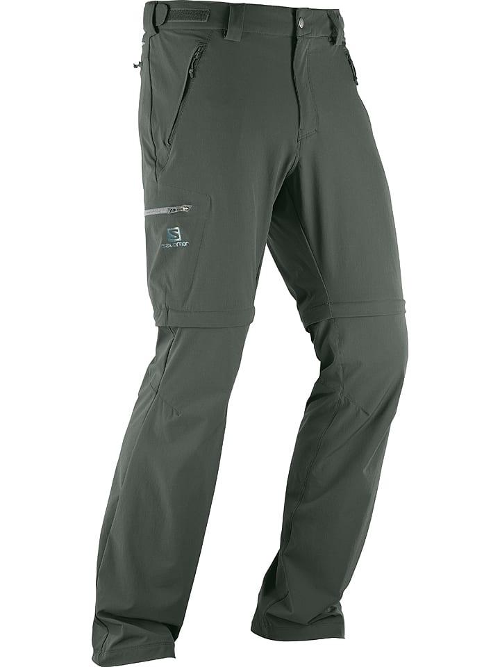"""SALOMON Pantalon fonctionnel modulable """"Wayfarer"""" - kaki"""