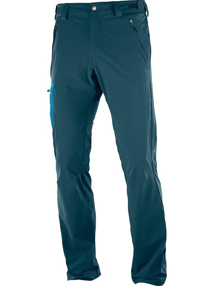"""SALOMON Pantalon fonctionnel """"Wayfarer"""" - turquoise"""
