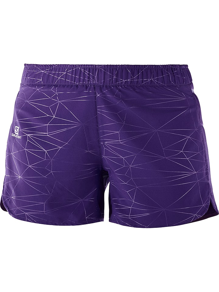 "SALOMON Short de course ""Trail Runner"" - violet"