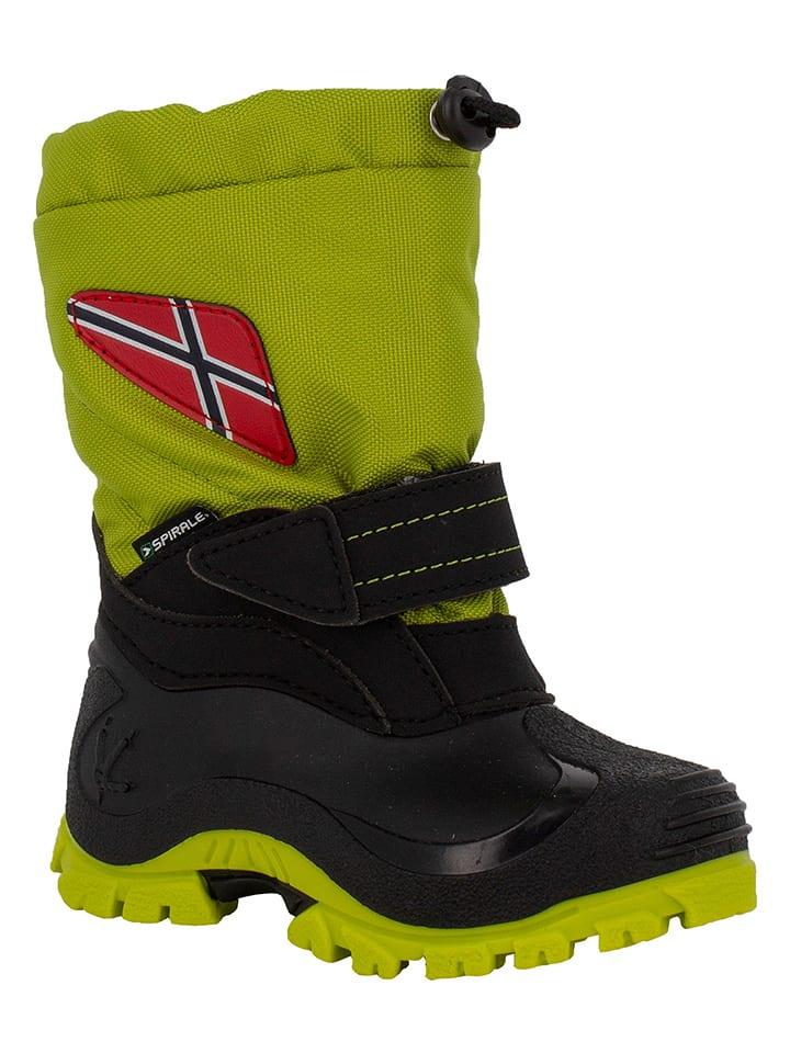 "Spirale Winterboots ""Morten"" in Hellgrün"