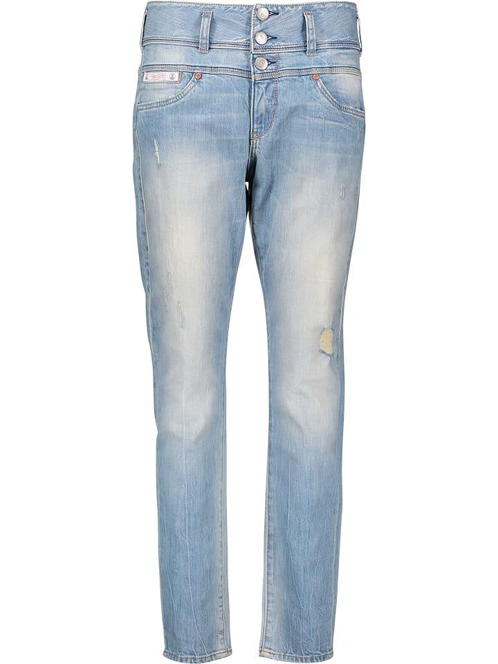"""Herrlicher Jeans """"Raya"""" - Boyfriend - in Hellblau"""