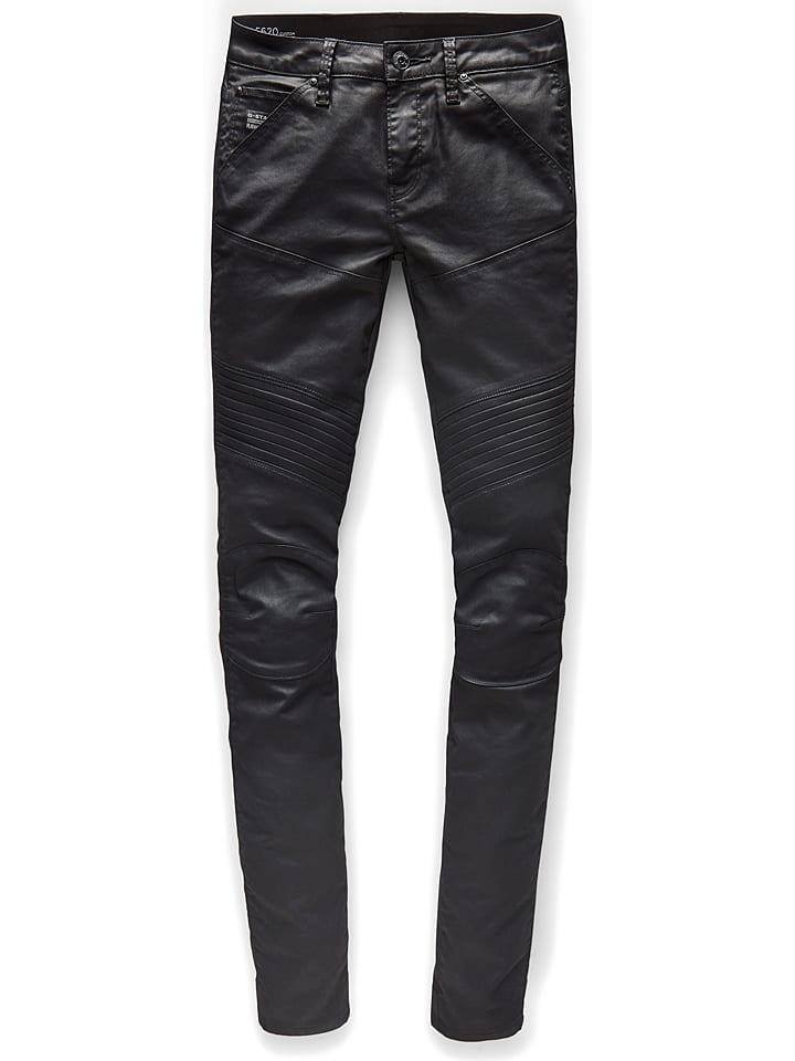 G-Star Raw Dżinsy - Skinny fit - w kolorze czarnym